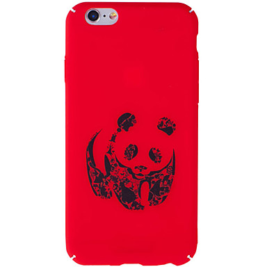 Voor iphone 7 plus 7 case cover patroon back cover case panda harde pc voor iphone 6s plus 6 plus 6s 6