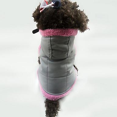 Hond Gilet Hondenkleding Casual/Dagelijks Effen Wit Oranje Paars Kostuum Voor huisdieren