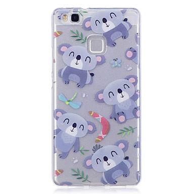 Caz pentru huawei p10 lite p10 telefon caz tpu material imd proces koala model hd telefon caz onoare 8 p9 lite p8 lite y6 ii y5 ii