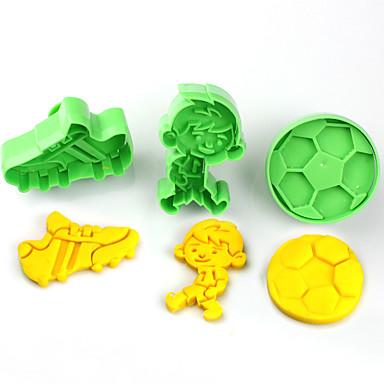 3 Cookie Tools Bloem Cake Kunststoffen Kinderen DHZ