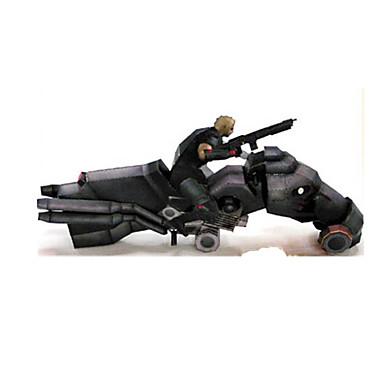 لعبة سيارات قطع تركيب3D تركيب أشغال الورق دراجة نارية 3D مواد تأثيث اصنع بنفسك كلاسيكي دراجة نارية للجنسين هدية