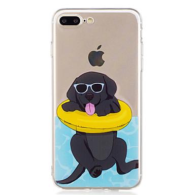 Für iPhone X iPhone 8 Hüllen Cover Muster Rückseitenabdeckung Hülle Hund Cartoon Design Weich TPU für Apple iPhone X iPhone 8 Plus iPhone