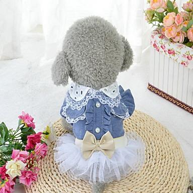 Hond Jurken Hondenkleding Verjaardag Casual/Dagelijks Prinses