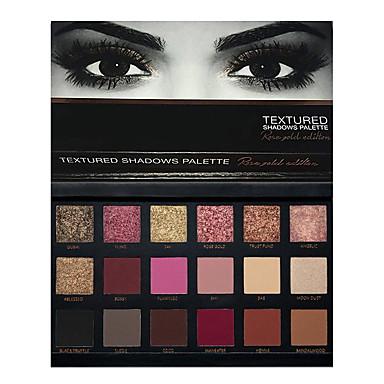 18 colors eye shadow Göz Farı Paleti Kuru Göz Farı paleti Pudra Set Makijaż dzienny