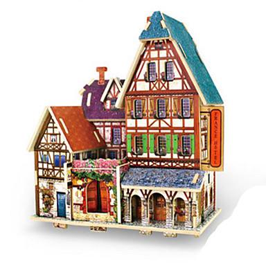 3D - Puzzle Holzpuzzle Holzmodell Spielzeuge Architektur 3D Heimwerken Holz keine Angaben Stücke