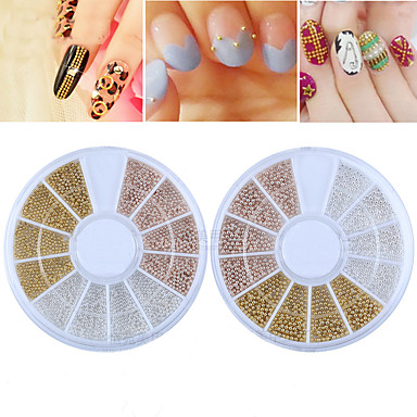 1 Nagelkunst decoratie Strass parels make-up Cosmetische Nagelkunst ontwerp
