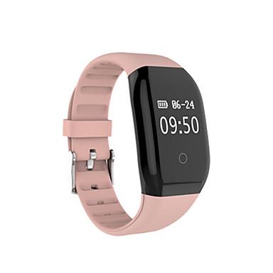 Herrn Smart Watch digital Silikon Band Schwarz Blau Rosa Lila Marinenblau