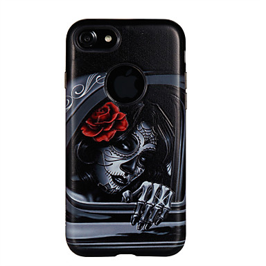 Maska Pentru iPhone 7 Plus iPhone 7 iPhone 6s Plus iPhone 6 Plus iPhone 6s iPhone 6 Apple Anti Șoc Model Embosat Capac Spate Femeie Sexy