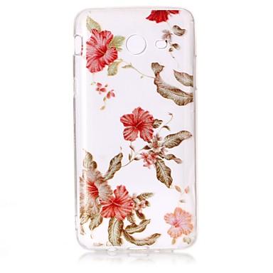 غطاء من أجل Samsung Galaxy J7 (2016) J5 (2016) IMD نموذج غطاء خلفي بريق لماع زهور ناعم TPU إلى J7 (2016) J7 V J7 Perx J5 (2016) J3 J3