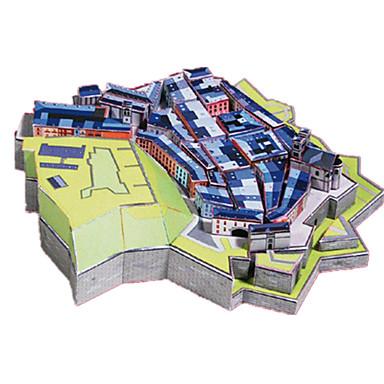 قطع تركيب3D أشغال الورق مجموعات البناء بناء مشهور معمارية محاكاة اصنع بنفسك ورق صلب كلاسيكي للأطفال صبيان للجنسين هدية