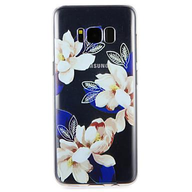 hoesje Voor Samsung Galaxy S8 Plus S8 Patroon Achterkantje Bloem Zacht TPU voor S8 Plus S8 S7