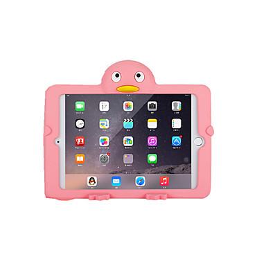 Für Hüllen Cover Stoßresistent Rückseitenabdeckung Hülle Volltonfarbe 3D Zeichentrick Weich PVC für Apple iPad Mini 3/2/1
