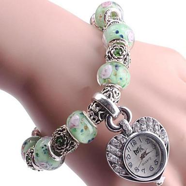 Dames Armbandhorloge Digitaal Metaal Band Blauw Groen