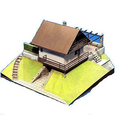3D - Puzzle Papiermodelle Spielzeuge Quadratisch Berühmte Gebäude Haus Architektur 3D Heimwerken Hartkartonpapier Unisex Stücke