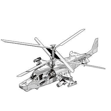 3D - Puzzle Metallpuzzle Flugzeug 3D Einrichtungsartikel Heimwerken Chrom Metal Klassisch Unisex Geschenk