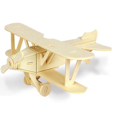 قطع تركيب3D تركيب تركيب معدني الخشب نموذج مجموعات البناء ألعاب طيارة 3D اصنع بنفسك خشب الخشب الطبيعي غير محدد قطع