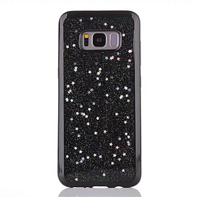 Hülle Für Samsung Galaxy S8 Plus S8 Durchscheinend Rückseite Glänzender Schein Weich TPU für S8 Plus S8