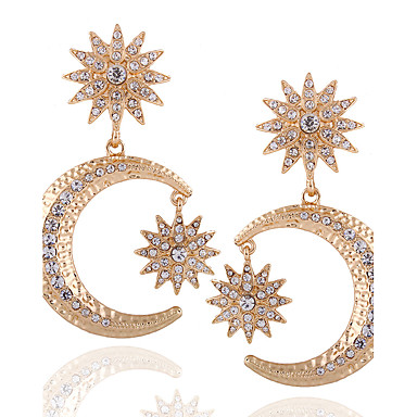 Damen Tropfen-Ohrringe Ohrringe baumeln Personalisiert Religiöser Schmuck Luxus Geometrisch Einzigartiges Design Anhänger Stil Anhänger