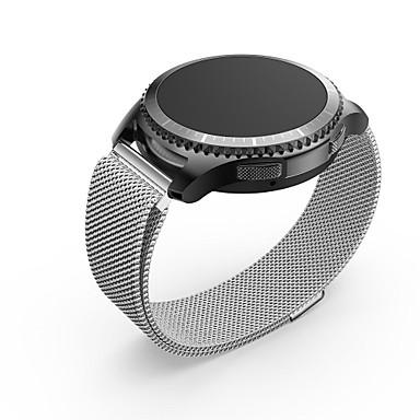 Roestvast staal Horlogeband Band Zilver 20cm / 7.9 Inch 2cm / 0.8 Inch