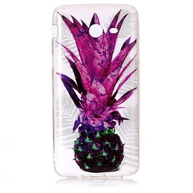 hoesje Voor Samsung Galaxy J7 (2016) J5 (2016) IMD Patroon Achterkantje Glitterglans Fruit Zacht TPU voor J7 (2016) J7 V J7 Perx J5
