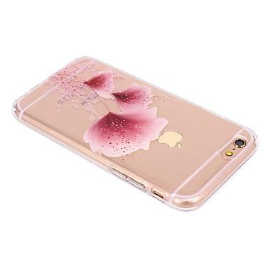 Hülle Für Apple iPhone X iPhone 8 Transparent Muster Rückseite Blume Weich TPU für iPhone X iPhone 8 Plus iPhone 8 iPhone 7 Plus iPhone 7