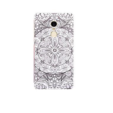 Voor xiaomi mi 5 case cover patroon achterkant hoesje bloem zachte tpu