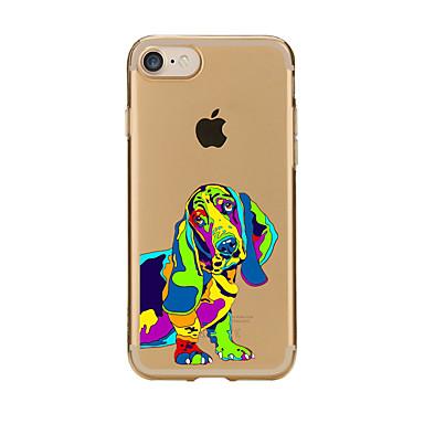 hoesje Voor Apple iPhone 7 Plus iPhone 7 Patroon Achterkant Hond Zacht TPU voor iPhone 7 Plus iPhone 7 iPhone 6s Plus iPhone 6s iPhone 6