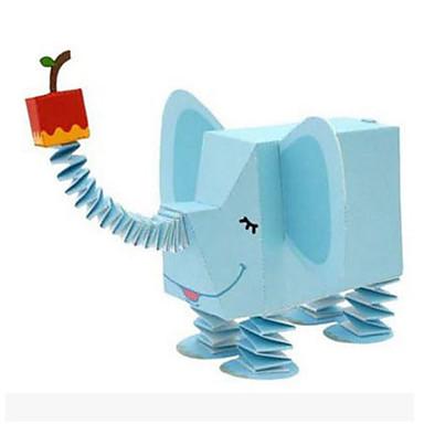 قطع تركيب3D نموذج الورق مجموعات البناء أشغال الورق ألعاب مربع 3D الحيوانات اصنع بنفسك ورق صلب للجنسين قطع