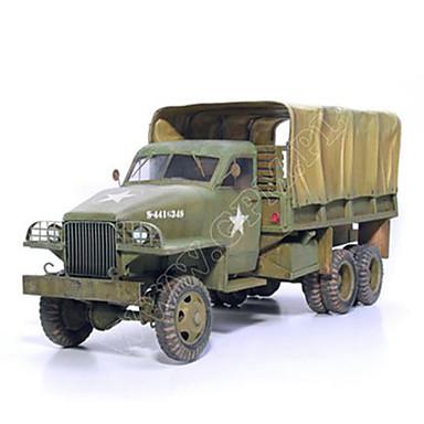لعبة سيارات قطع تركيب3D نموذج الورق مربع شاحنة ورق صلب شاحنة صبيان للجنسين هدية