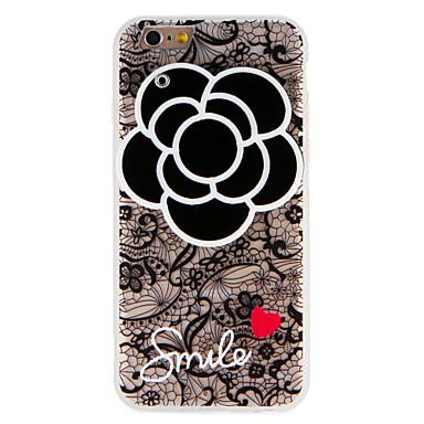 hoesje Voor Apple iPhone 7 Plus iPhone 7 Spiegel Patroon Achterkant Woord / tekst Hart Bloem Hard PC voor iPhone 7 Plus iPhone 7 iPhone