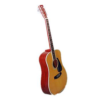 3D - Puzzle Papiermodel Papiermodelle Modellbausätze Musik Instrumente Gitarre Simulation Einrichtungsartikel Heimwerken Hartkartonpapier