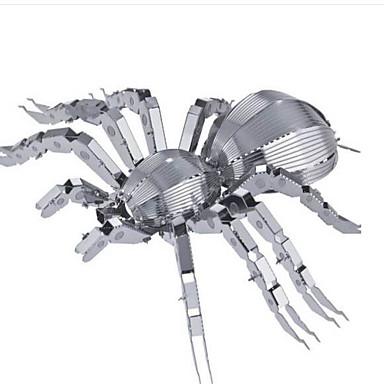Puzzle 3D Puzzle Puzzle Metal Animal 3D Teak Aliaj Metalic MetalPistol 6 ani și peste