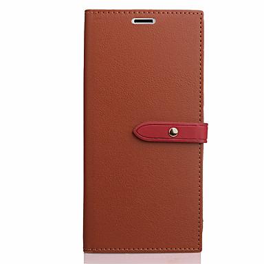 Maska Pentru LG LG G5 Titluar Card Cu Stand Întoarce Carcasă Telefon Culoare solidă Greu PU piele pentru LG G6