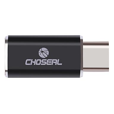 USB 2.0 Type C Adapter, USB 2.0 Type C to Micro USB 2.0 Adapter Mannelijk - Vrouwelijk
