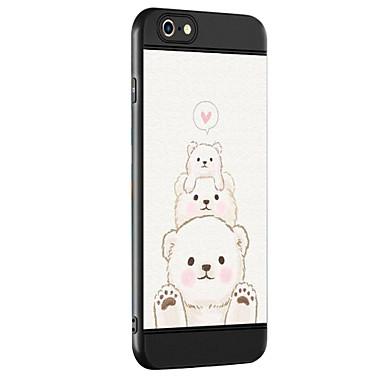 Caz pentru Apple iPhone 7 7 plus caz acoperă urs model îngroșare tpu material pulverizator telefon caz pentru iphone 6 6s 6 plus 6s plus