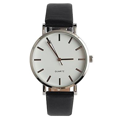 Dames Modieus horloge Japans Kwarts / PU Band Vrijetijdsschoenen Elegante horloges Zwart