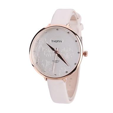 Pentru femei Simulat Diamant Ceas Ceas de Mână Ceas Elegant  Ceas La Modă Chineză Quartz Mare Dial imitație de diamant PU Bandă Vintage