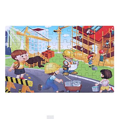 Legpuzzels Houten puzzels Bouw blokken DHZ-speelgoed Automatisch Cartoon Overige