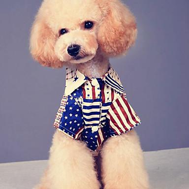 Câine Tricou Îmbrăcăminte Câini Casul/Zilnic American / USA