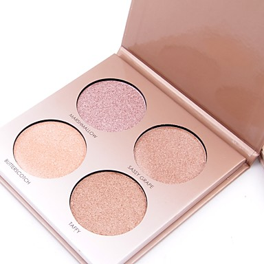 Concealer / Contour / Highlighters / Bronzers Shimmer Pressed powder Concealer Face China