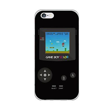 Para Capinha iPhone 6 / Capinha iPhone 6 Plus Ultra-Fina / Estampada Capinha Capa Traseira Capinha Desenho Macia TPUiPhone 6s Plus/6 Plus