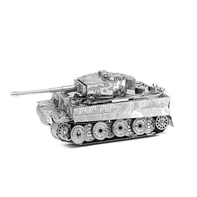 Holzpuzzle Metallpuzzle Spielzeuge Panzer Flugzeug 3D Heimwerken Einrichtungsartikel Edelstahl Metal keine Angaben Stücke