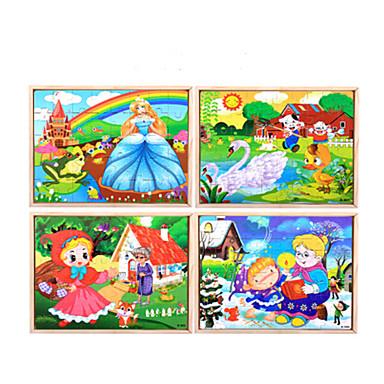 Puzzle Puzzle Lemn Jucării Educaționale Lebădă Desen animat Floare Fruct Lemn Anime Desen animat Unisex Cadou