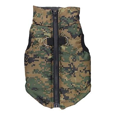Câine Γιλέκο Îmbrăcăminte Câini Keep Warm Polițist/Militar Costume Pentru animale de companie