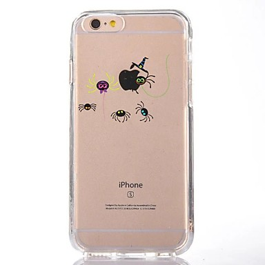Maska Pentru Apple iPhone 7 Plus iPhone 7 Transparent Model Capac Spate Desene Animate Moale TPU pentru iPhone 7 Plus iPhone 7 iPhone 6s