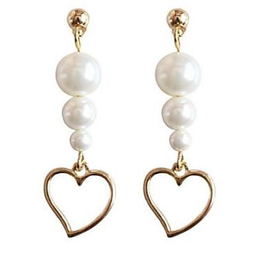 Pentru femei Cercei Stud La modă Personalizat Cute Stil Aliaj Heart Shape Bijuterii Pentru Alte Zilnic Concediu