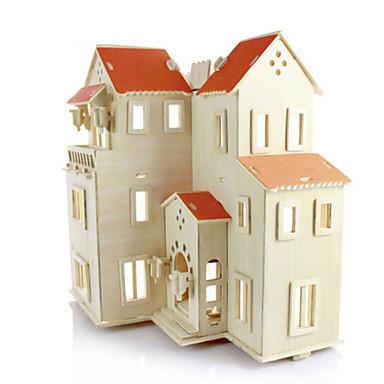 Puzzle 3D Puzzle Modele de Lemn Arhitectură 3D Simulare Reparații Lemn Lemn natural Gril pe Kamado  Unisex Cadou