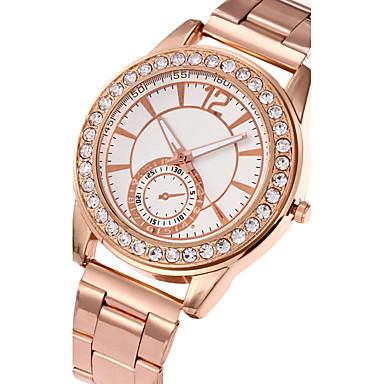 Pentru femei Ceas La Modă Ceas de Mână Ceas Casual Quartz Oțel inoxidabil Bandă Charm Cool Casual Luxos Elegant Argint Auriu Roz auriu