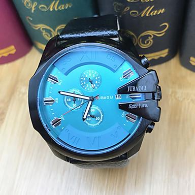 Bărbați Ceas Sport Ceas La Modă Ceas de Mână Ceas Casual Chineză Quartz Calendar Cronometru Mare Dial Oțel inoxidabil Bandă Casual Cool