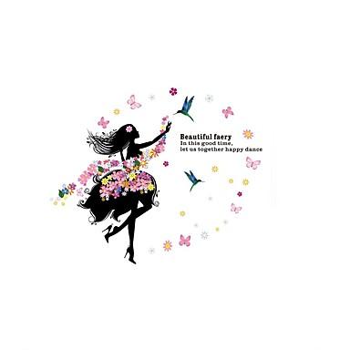 Ζώα Florale Fantezie Perete Postituri Autocolante perete plane Autocolante de Perete Decorative,Hârtie Vinil Material Pagina de decorare